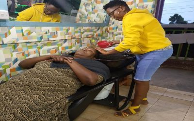 From the young mothers Programme to the Top beautician in Town